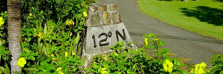 The Resort Latitude Marker